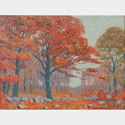Harry Neyland (American, 1877-1958)      Autumn's Splendor