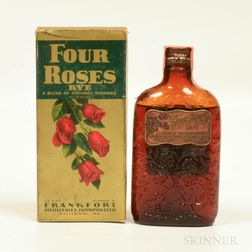 Four Roses Rye 3 Years Old, 1 half pint bottle