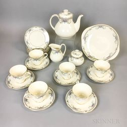 "Royal Doulton ""Juliet"" Tea Set"
