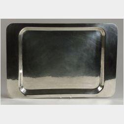 Allan Adler Sterling Silver Tray