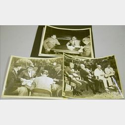 Three WWII Era President Franklin D. Roosevelt Archival Photographs