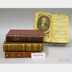 Decorative Bindings incl.Plutarch, Plato, Ecclesiastic Essays, etc, 9 titles in 17 vols