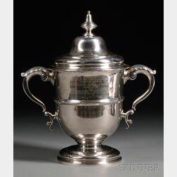 Edward VII Silver Presentation Cup