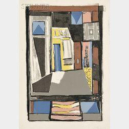 Albert Urban (German, 1909-1959)      Lot of Five Room Abstractions.