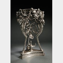 Victorian Sterling Silver Centerpiece