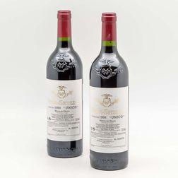 Bodegas Vega Sicilia Unico 1998, 2 bottles