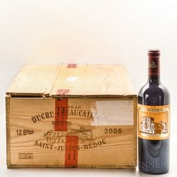 Chateau Ducru Beaucaillou 2005, 11 bottles