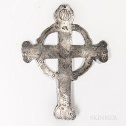 Northeast Silver Trade Cross
