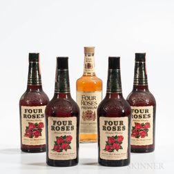Four Roses, 5 4/5 quart bottles Spirits cannot be shipped. Please see http://bit.ly/sk-spirits for more info.