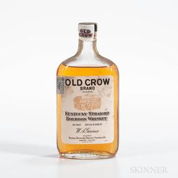 Old Crow 4 Years Old 1940, 1 pint bottle Spirits cannot be shipped. Please see http://bit.ly/sk-spirits for more info.