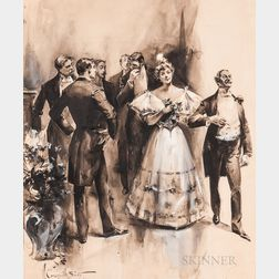 Walter Granville-Smith (American, 1870-1938)      The Debutante