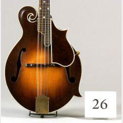 American Mandolin, Gibson Mandolin-Guitar Company, Kalamazoo, 1927, Model F-5