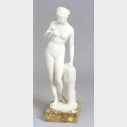 Marble Statue of a Classical Woman after the Antique