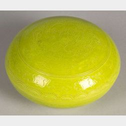 Porcelain Seal Paste Box