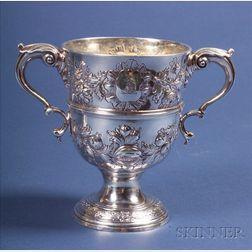 Irish George III Silver Caudle Cup