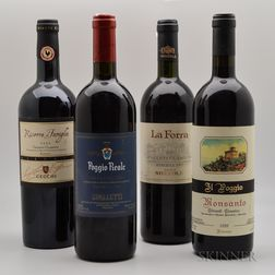 Mixed Tuscan Wines, 4 bottles
