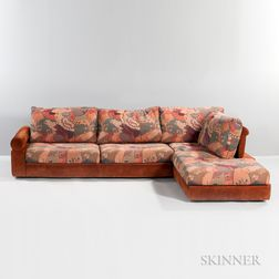 Two-piece Roche Bobois Southwest Sectional Sofa
