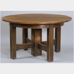 Important Gustav Stickley Dining Table