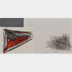 Beverly Pepper (American, b. 1922)      Two Sculptural Studies