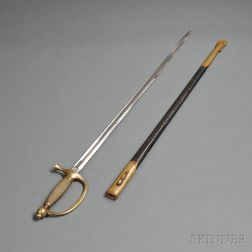 Model 1840 Musician's Sword and Scabbard