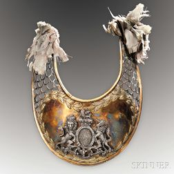 General William Henry Clinton's Gorget, 1st Regiment of Foot Guards