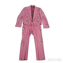 Little Jimmy Dickens     Mauve Suit