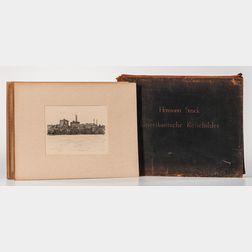 Struck, Hermann (1876-1944) Amerikanische Reisebilder Vierundvierzig Lithographien.