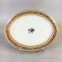 Oval Export Porcelain Platter