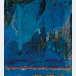 Helen Frankenthaler (American, 1928-2011)      Tales of Genji III