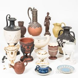 Sixteen English Ceramic Items