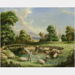 Albert Durer-Lucas (British, 1828-1918)  Summer