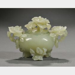 Jade Covered Censer
