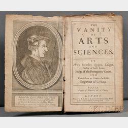 Agrippa von Nettesheim, Henricus Cornelius (1486?-1535)   The Vanity of Arts and Sciences