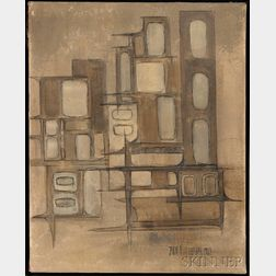 American School, 20th Century      Untitled [Abstract]