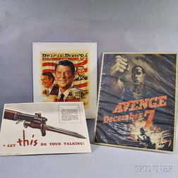 Three Lithograph Posters