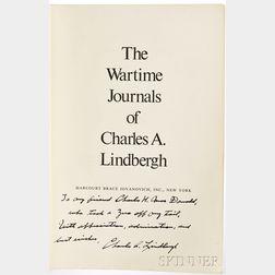 Lindbergh, Charles (1902-1974) Wartime Journals,   Signed Copy.