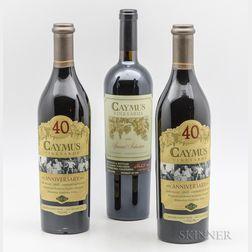 Caymus, 3 bottles