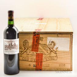 Chateau Cos dEstournel 2005, 11 bottles