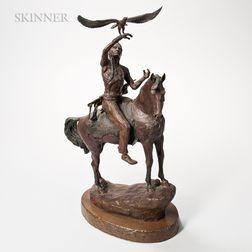 Richard A. Myer (American, b. 1933)      Eagle Horse