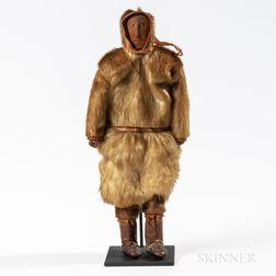 Eskimo Wood Doll