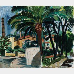 Jason Berger (American, 1924-2010)      Grasse Perfume Factories