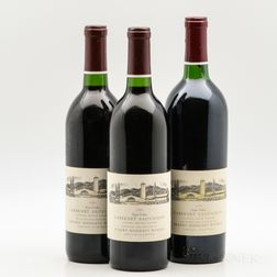 Robert Mondavi Winery, 3 bottles
