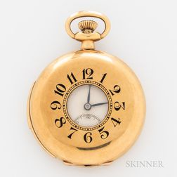 Zenith 18kt Gold Demi-hunter Repeater Watch