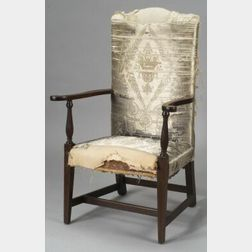 Federal Mahogany Inlaid Armchair
