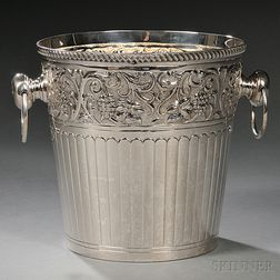 Elizabeth II Irish Sterling Silver Wine Cooler
