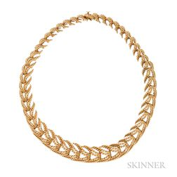 18kt Gold Ropework Necklace, Tiffany & Co.