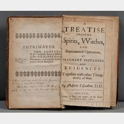 Casaubon Meric (1599-1671)   A Treatise Proving Spirits, Witches, and Supernatural Operations, by Pregnant Instances and Evidences