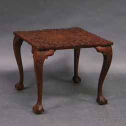 Carved Square Table