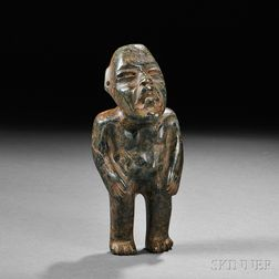 Olmec Carved Stone Figure