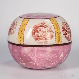 Sunderland Pink Lustre Orb